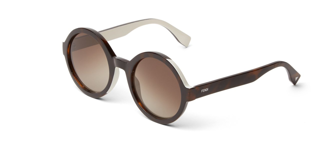 Fendi's Color Flash Sunglasses Marrón