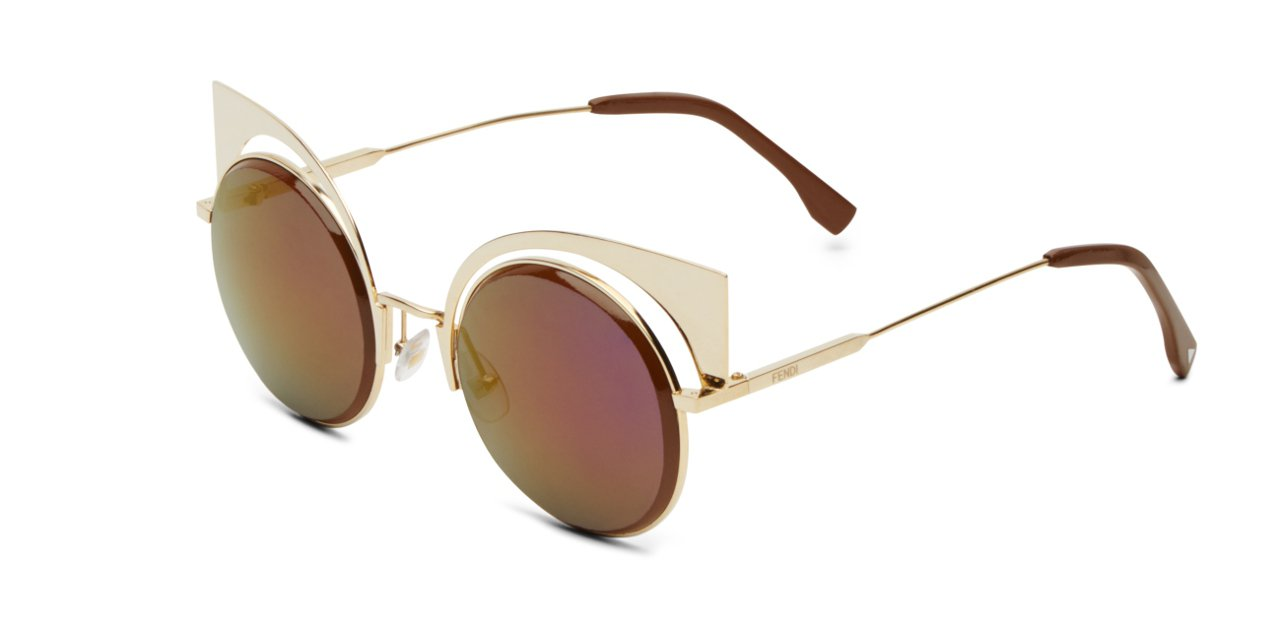Fendi's Eyeshine Sunglasses Habana