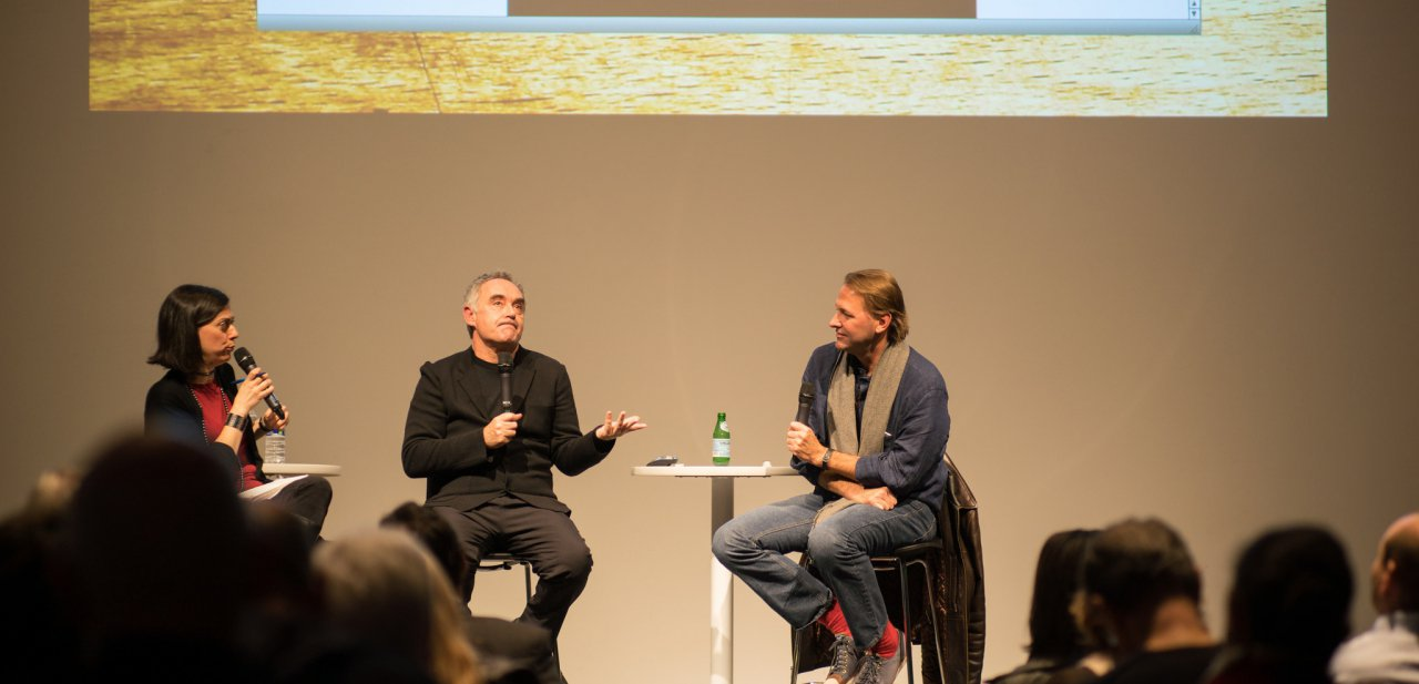 Ferran Adrià en una conferencia en el Cleveland Museum of Contemporary Art