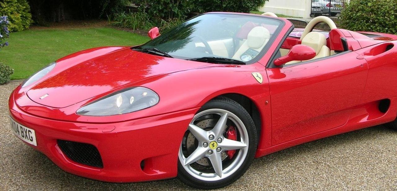 Ferrari Spider 1, potencia al volante
