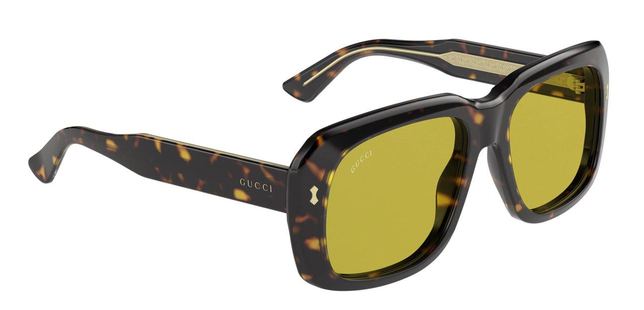 Gafas de sol de Gucci de 2016 femeninas y de forma retro
