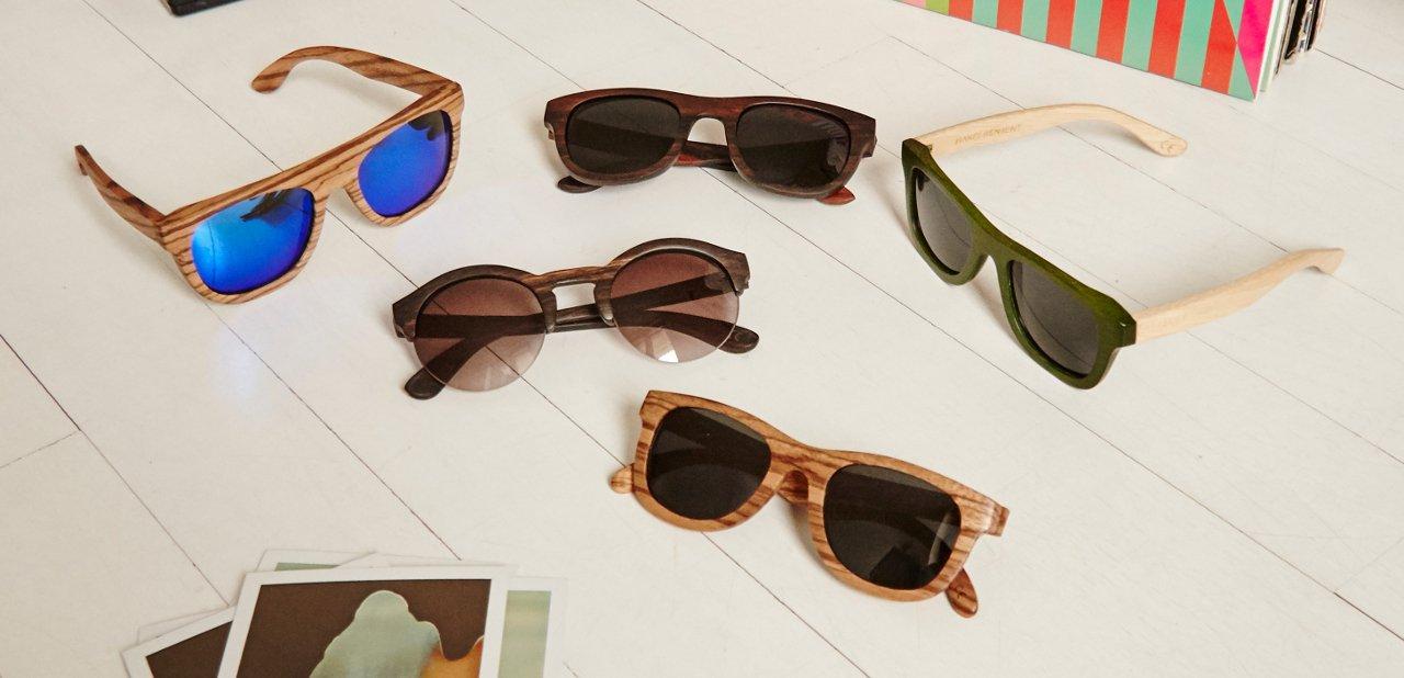 Gafas de sol de madera Hakei