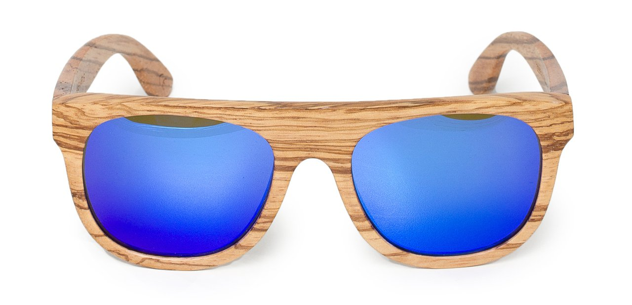 Gafas Hakei lentes azul eléctrico