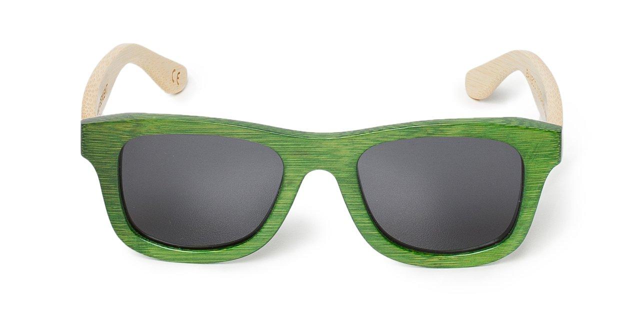 Gafas Hakei montura frontal verde