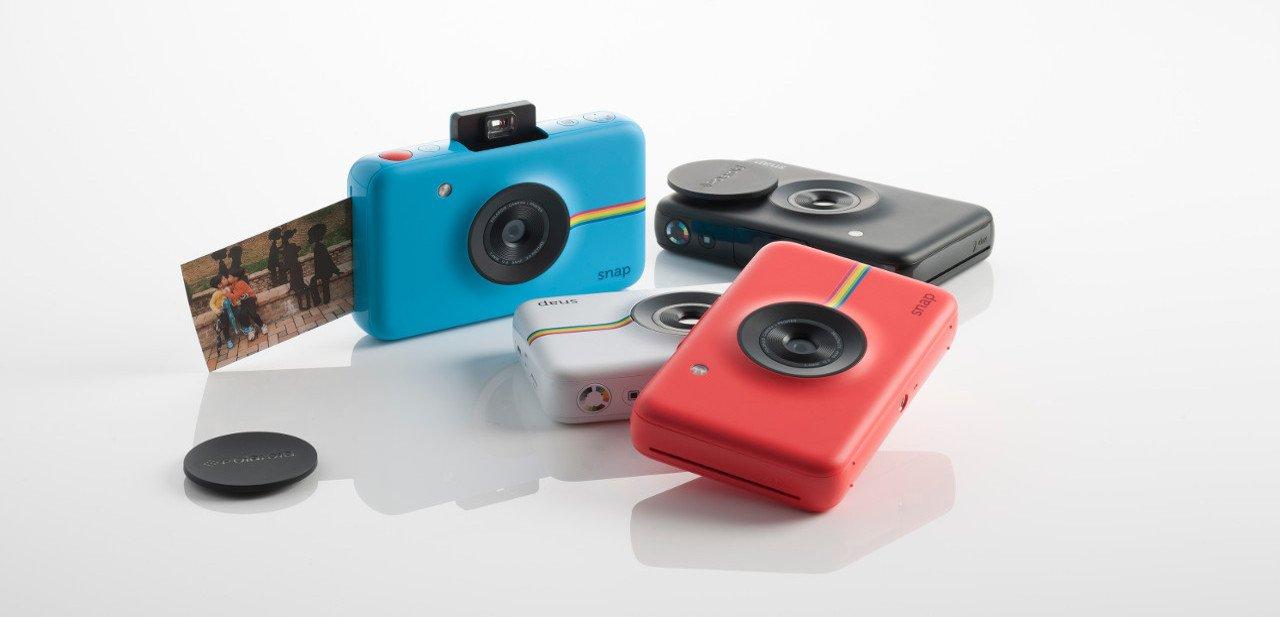 Gama de colores de la Polaroid Snap