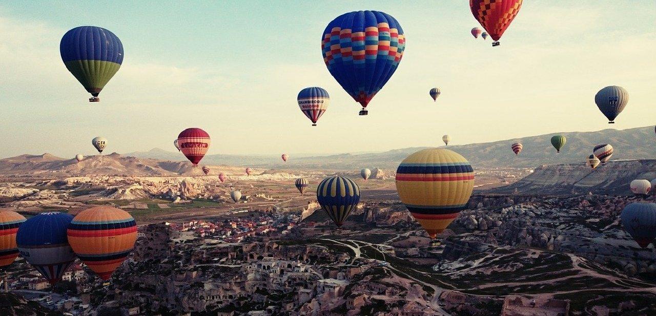Globos en Turquía