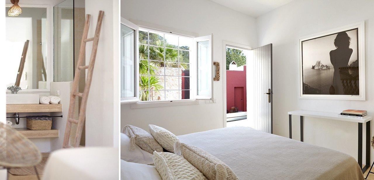 Habitación del Pure House Ibiza