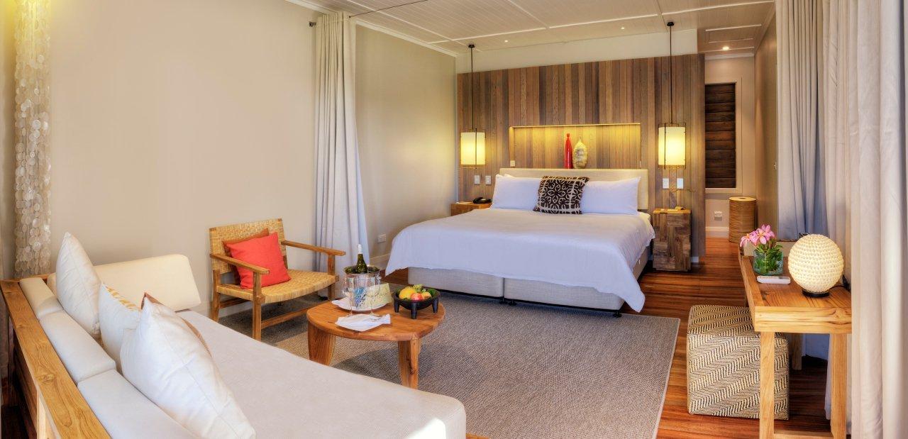 Habitación en Vomo Island Fiji Resort