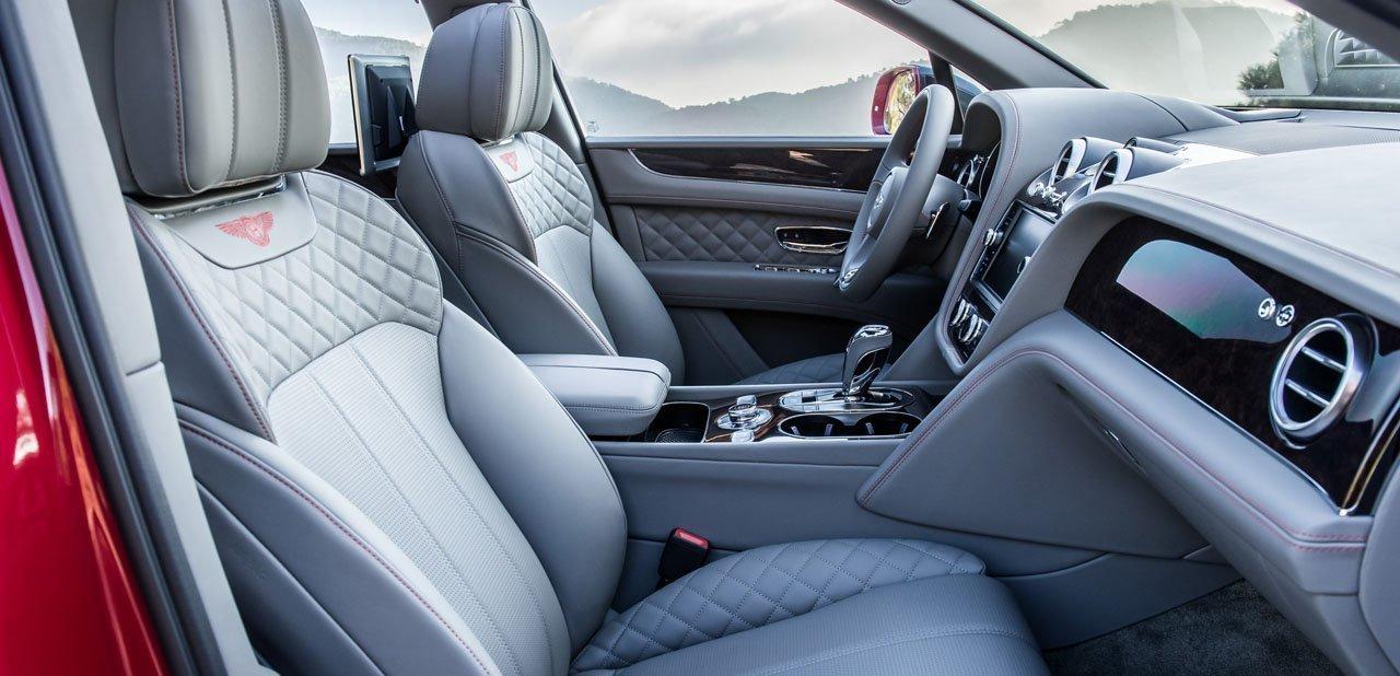 Habitáculo del Bentley Bentayga