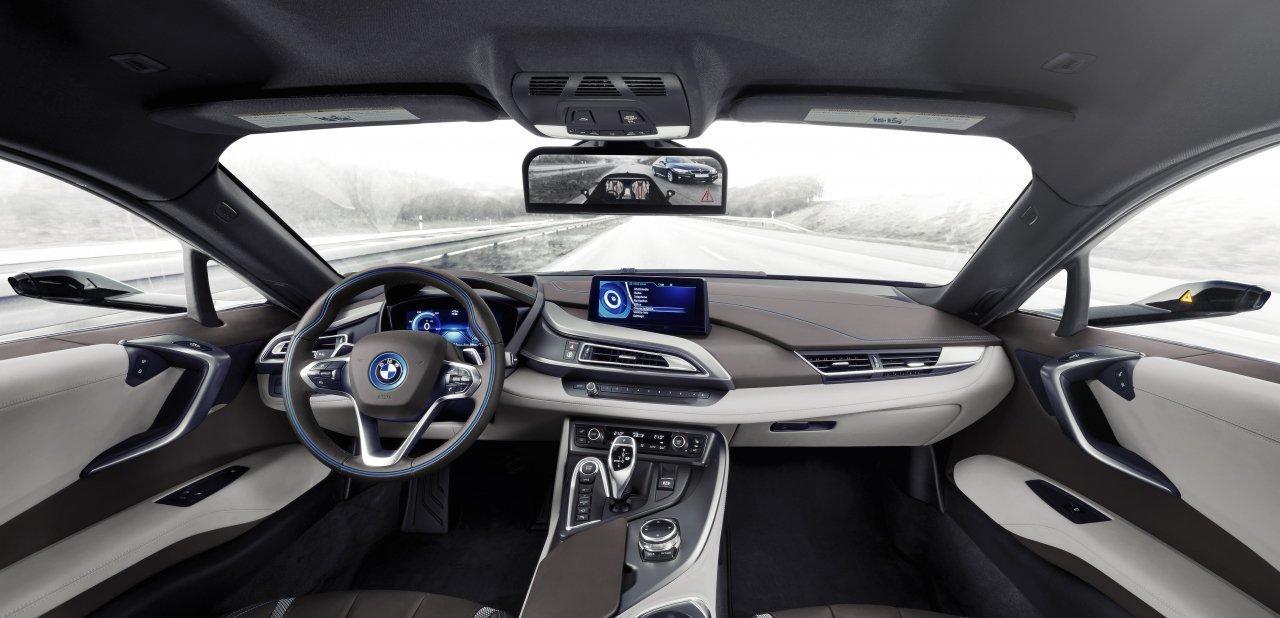 Habitáculo del BMW i8