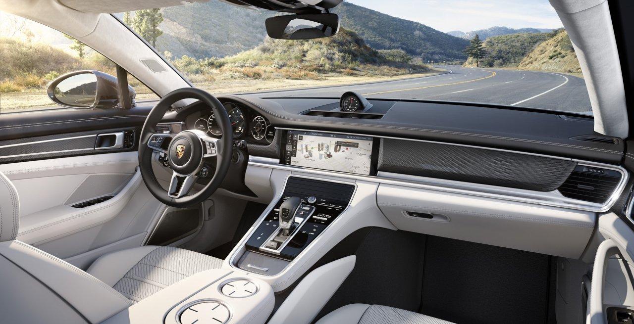 Habitáculo del Porsche Panamera 2017
