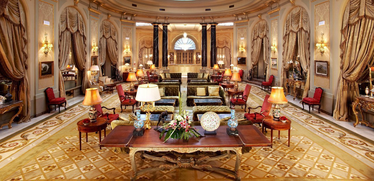 Hall del Hotel Palace Barcelona