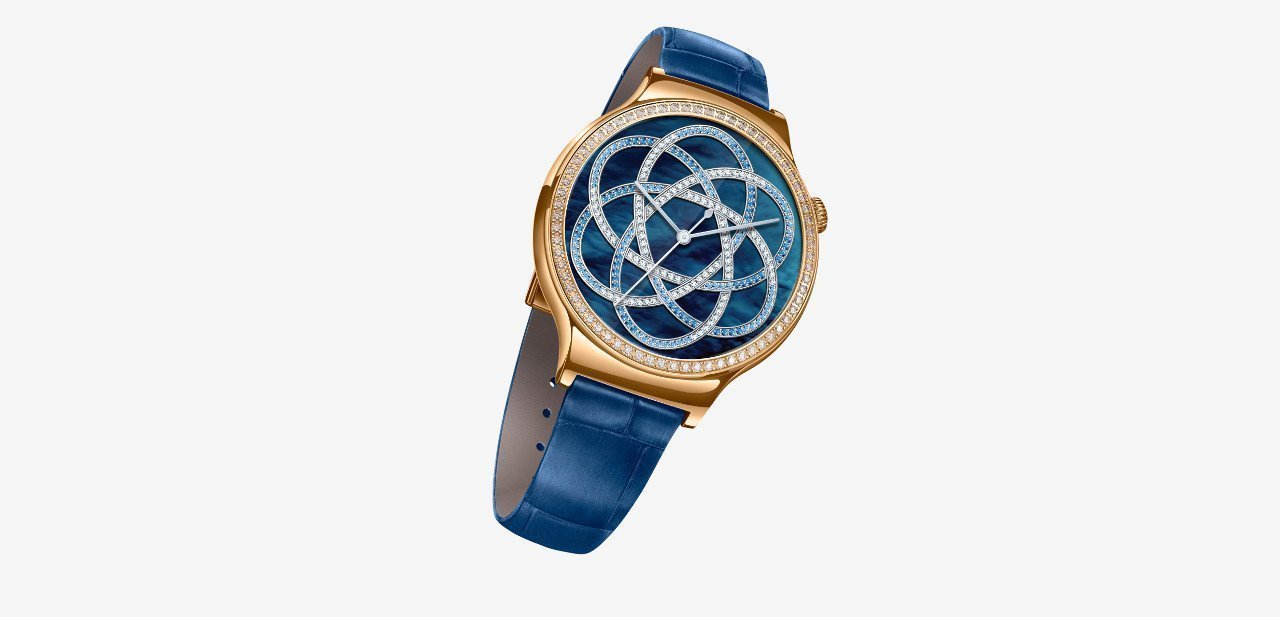 Huawei Watch Jewel, con correa azul