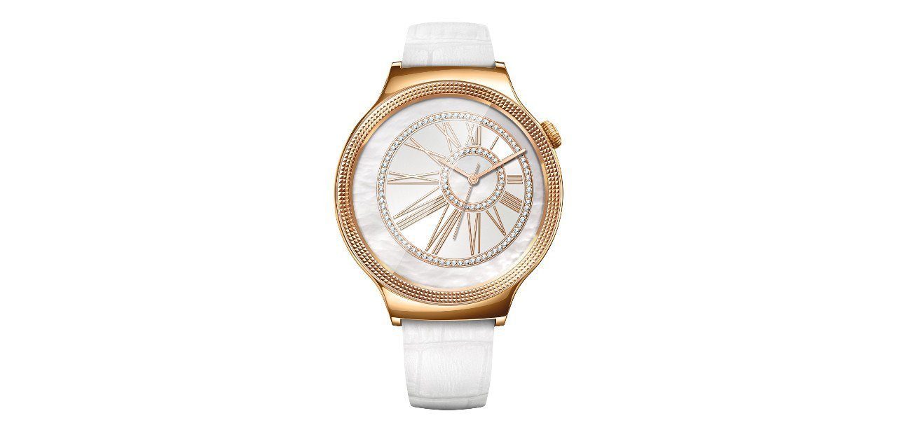 Huawei Watch Jewel, con correa blanca