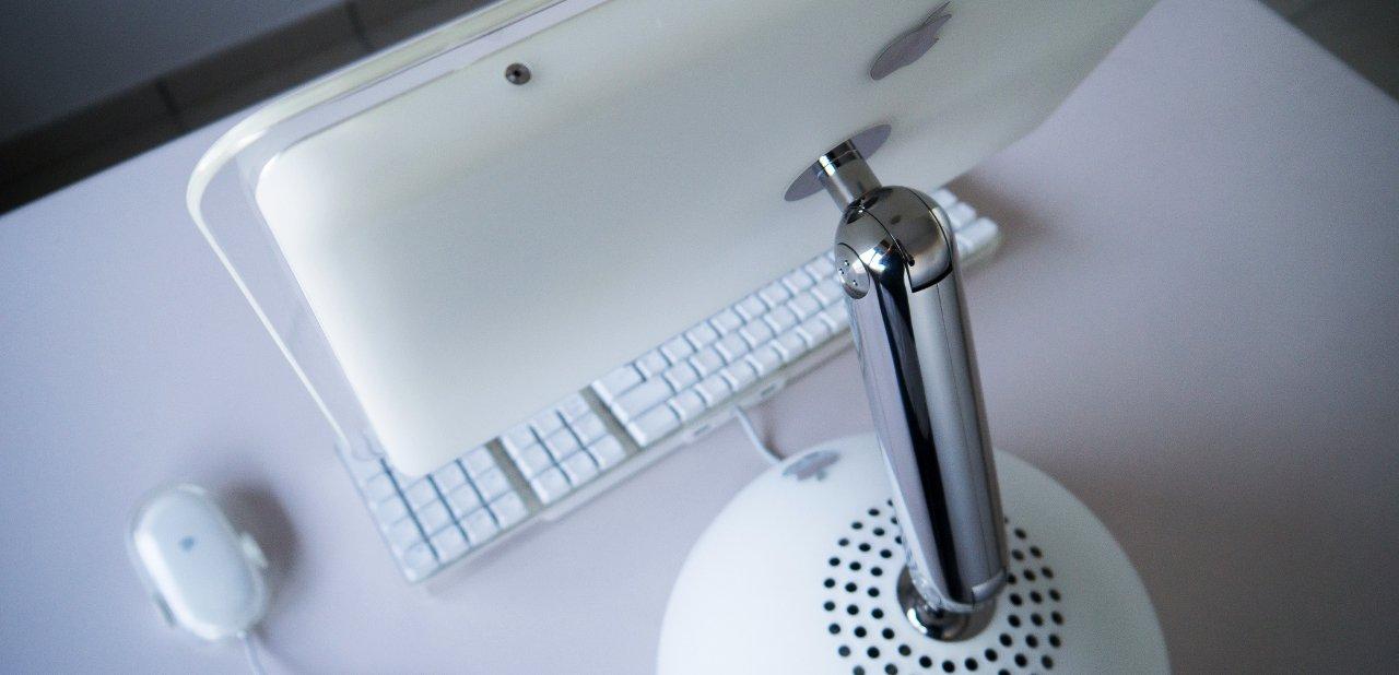 iMac G4, llamado popularmente 'lamparita'