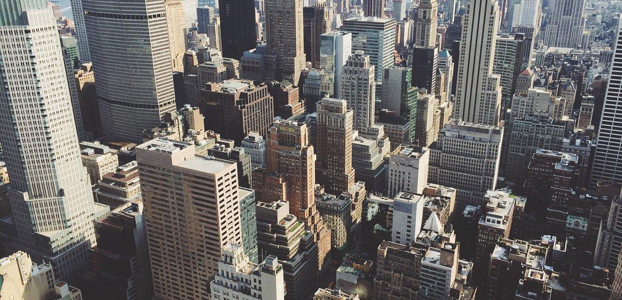 Imagen aérea de Nueva York