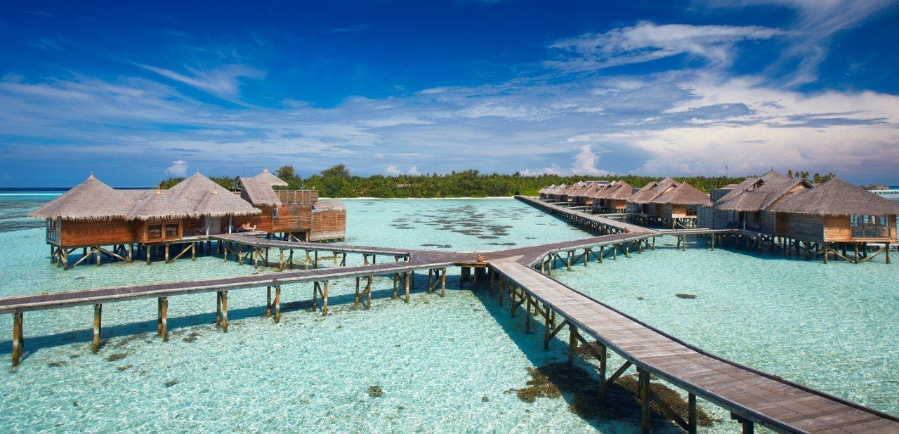 Imagen del complejo Gili Lankanfushi en las Maldivas