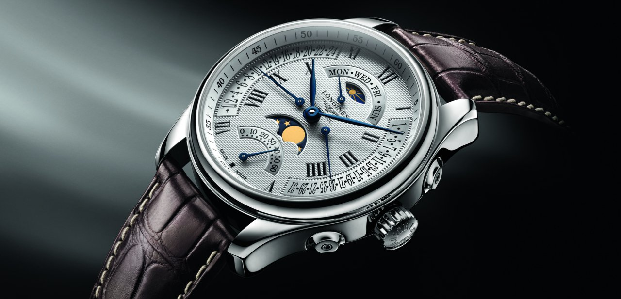 Imagen del The Longines Master Collection Retrograde Moon Phases