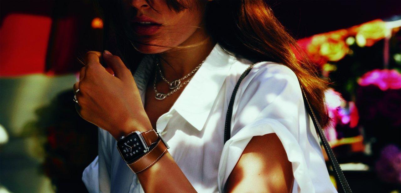 Imagen promocional del Apple Watch Hermès