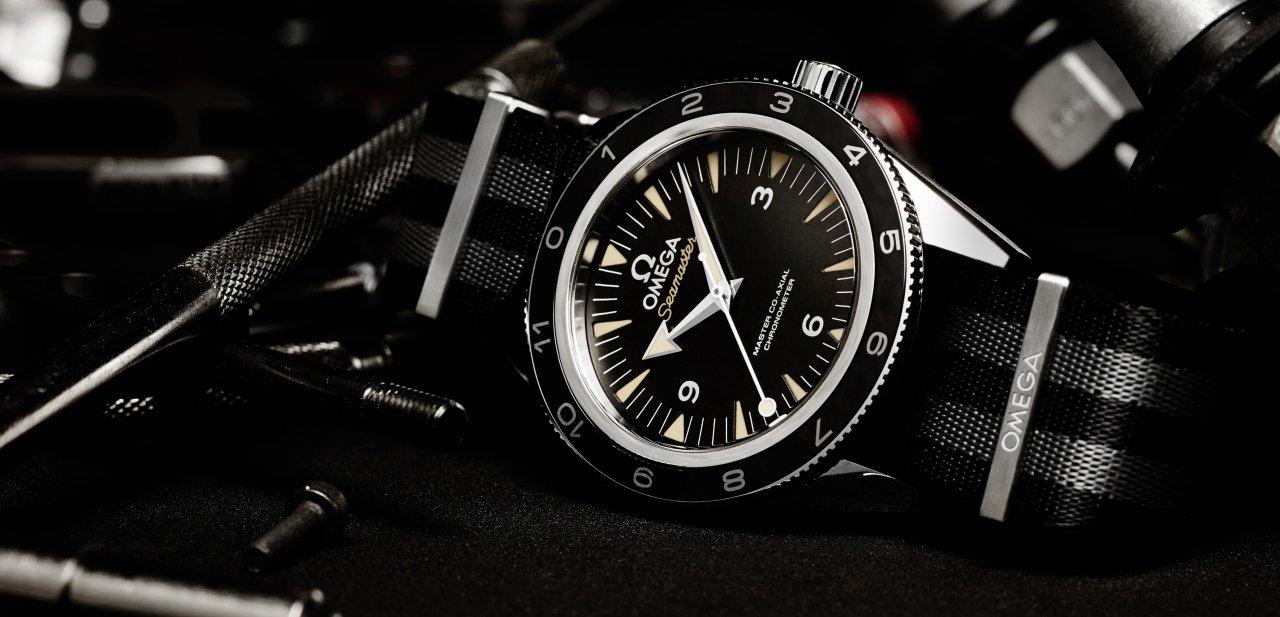 Imagen promocional del Seamaster 300 Spectre