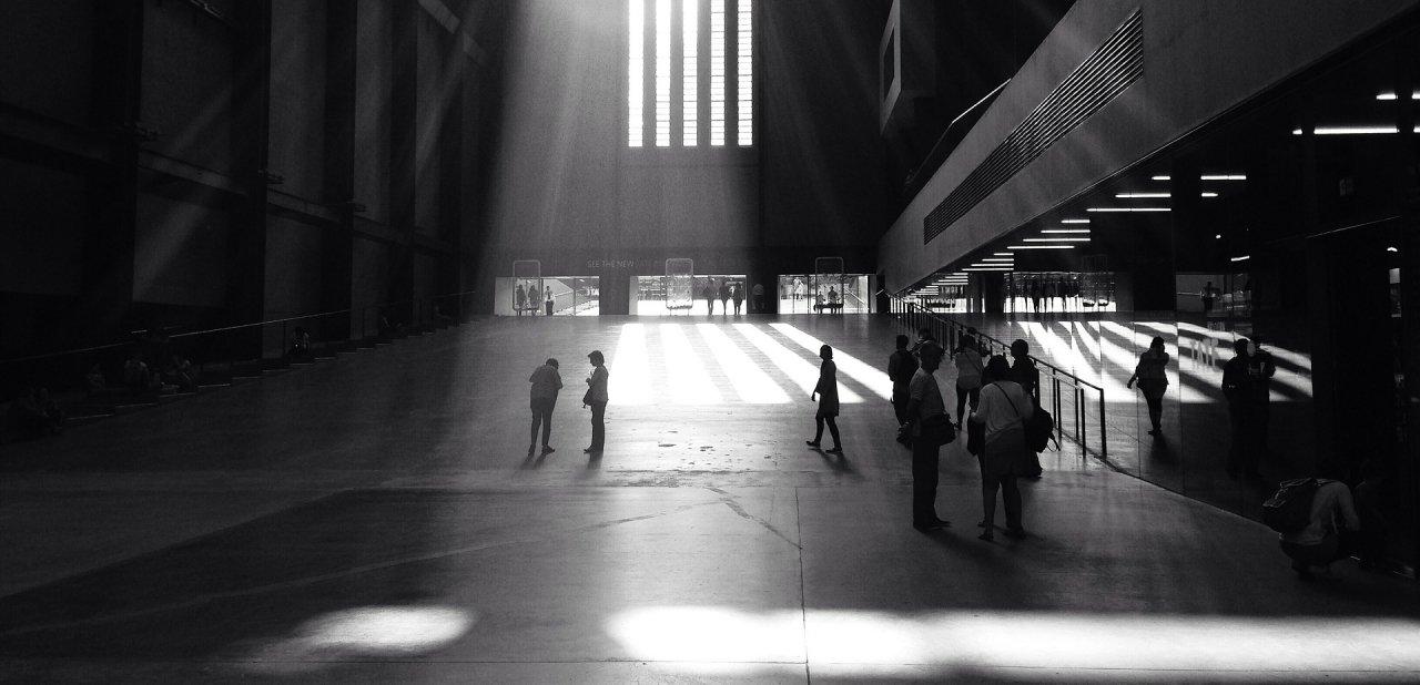 Interior de la Tate Modern de Londres