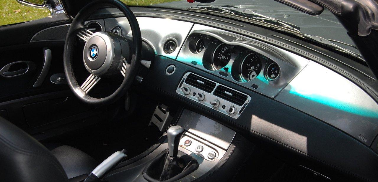 Interior de un BMW z8