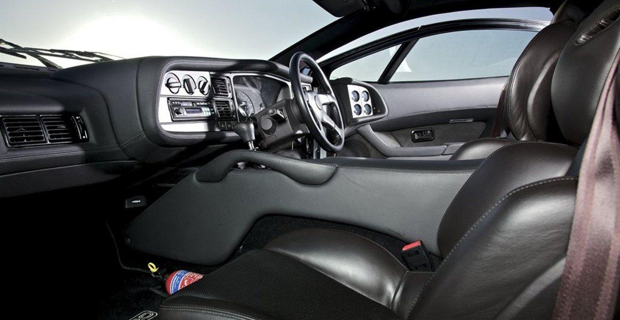 Interior de un Jaguar XJ220