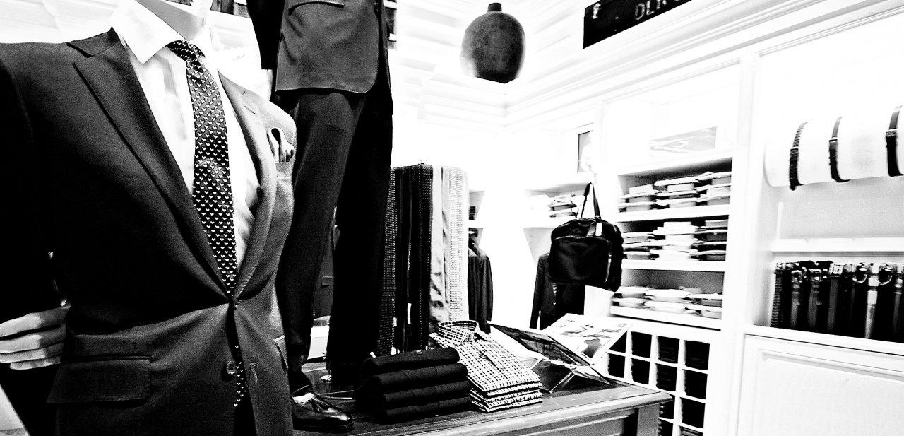 Interior de una tienda de Ralph Lauren en Las Vegas