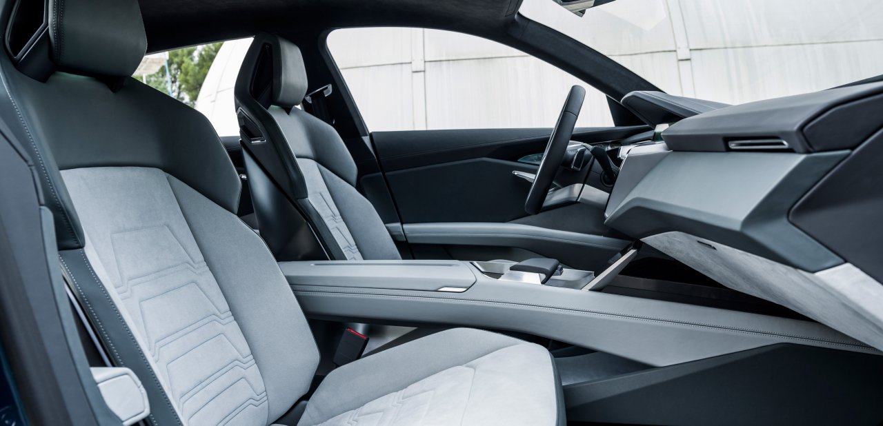 Interior del Audi E-Tron Quattro