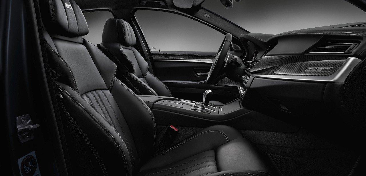 Interior del BMW M5 2017