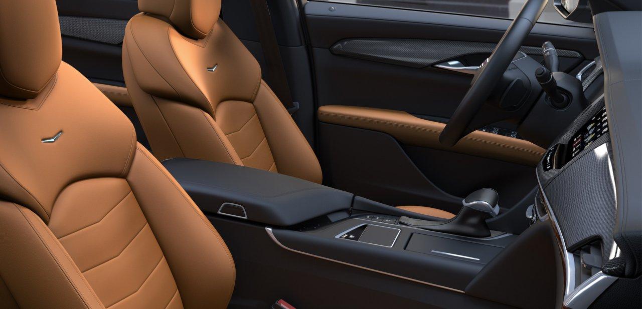 Interior del Cadillac CT6 Sedan