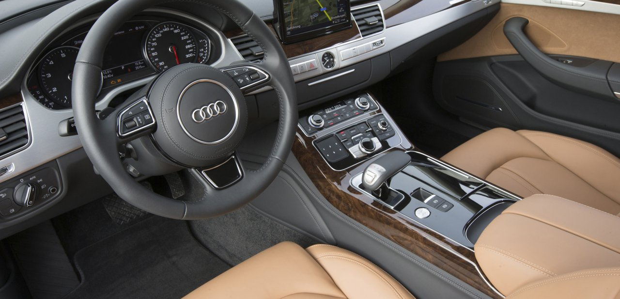 Interior del nuevo Audi S8