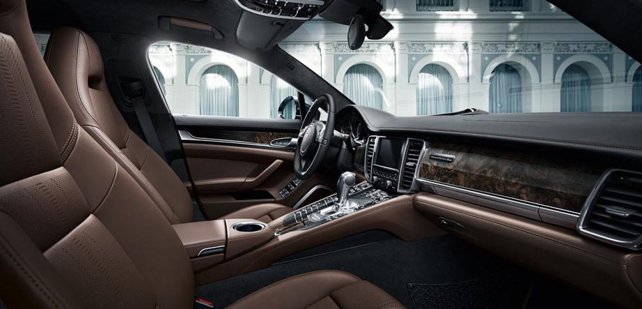 Interior del Panamera Exclusive Series