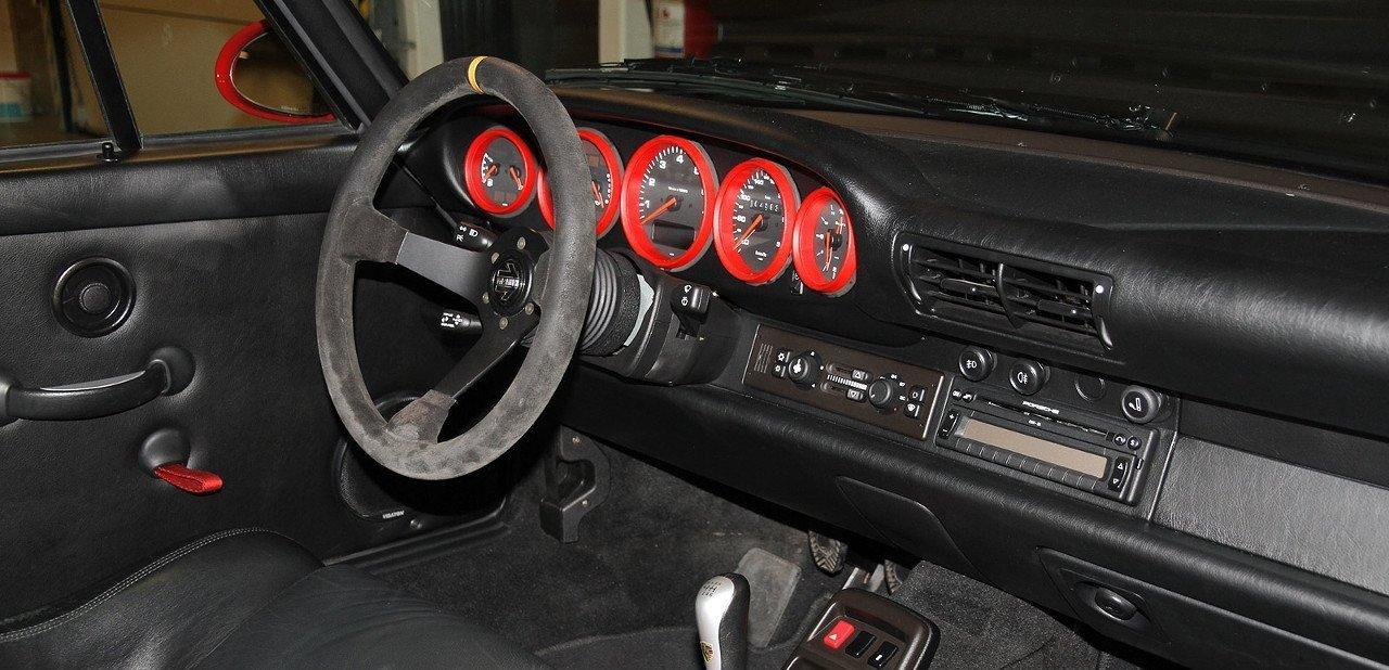 Interior del Porsche 993