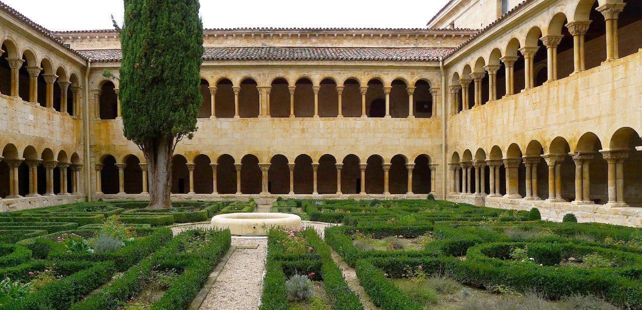 Jardines del Monasterio de Santo Domingo de Silos