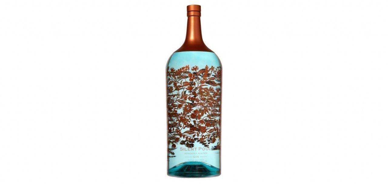 La botella de ginebra más cara y grande del mundo de Silent Pool Gin