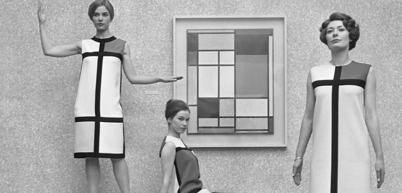 La colección de otoño del 66 de YSL inspirada en Mondrian