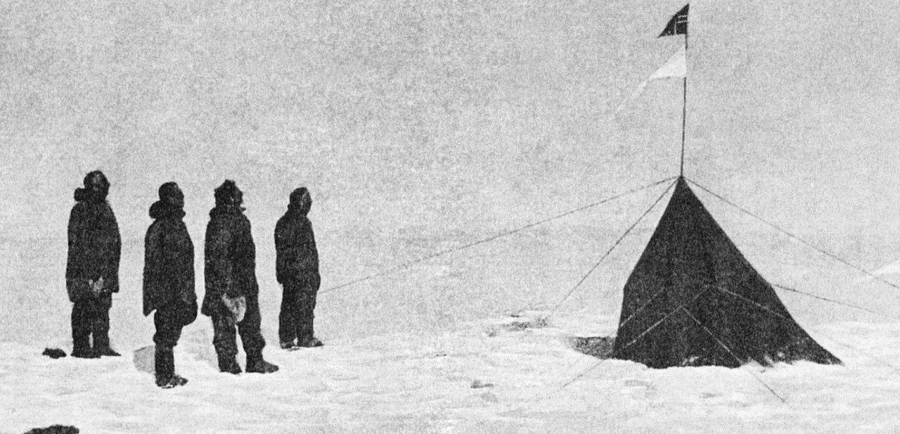 La Expedición Amundsen en el Polo Sur