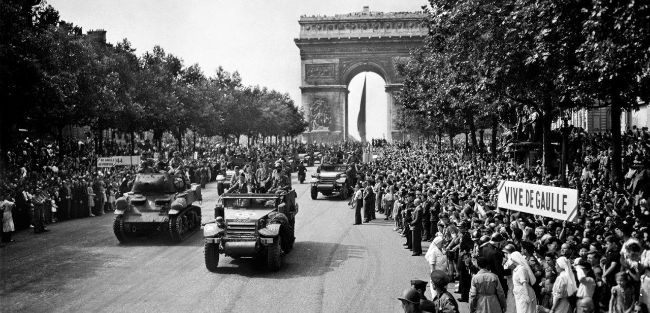 La liberación de París