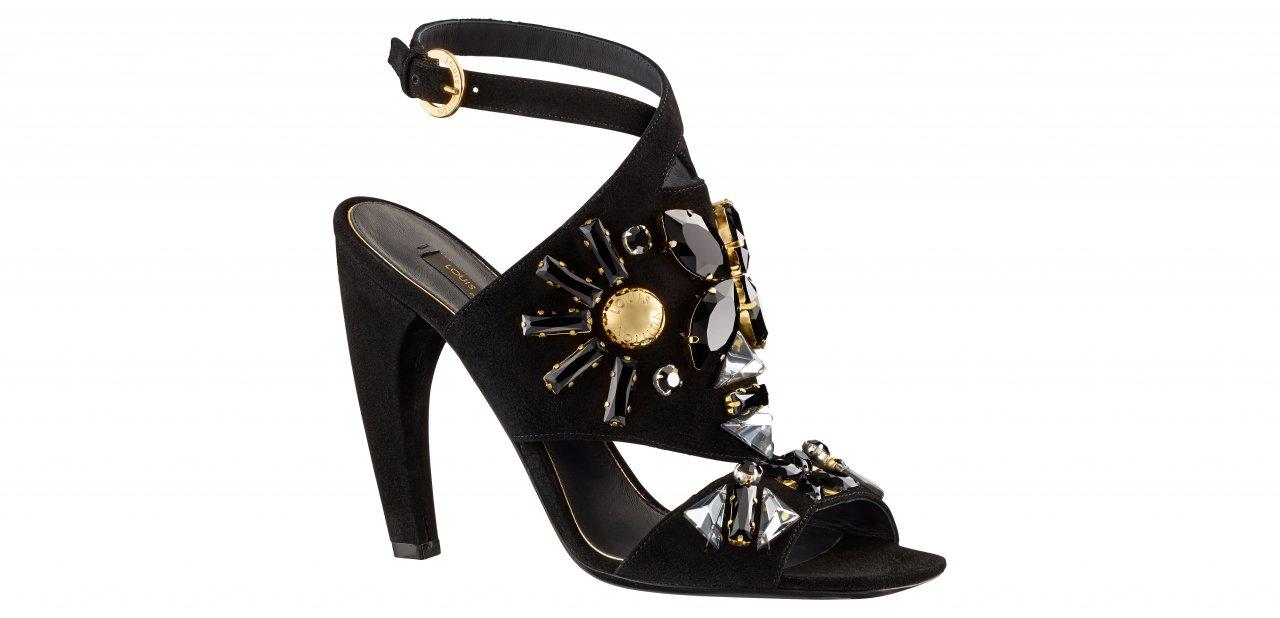 La sandalia Papure en color negro