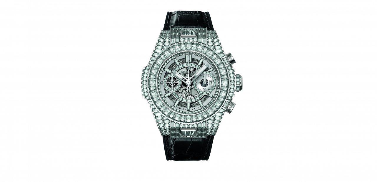 """La versión con diamantes blancos del Big Bang """"10 Years"""" Haute Joaillerie"""