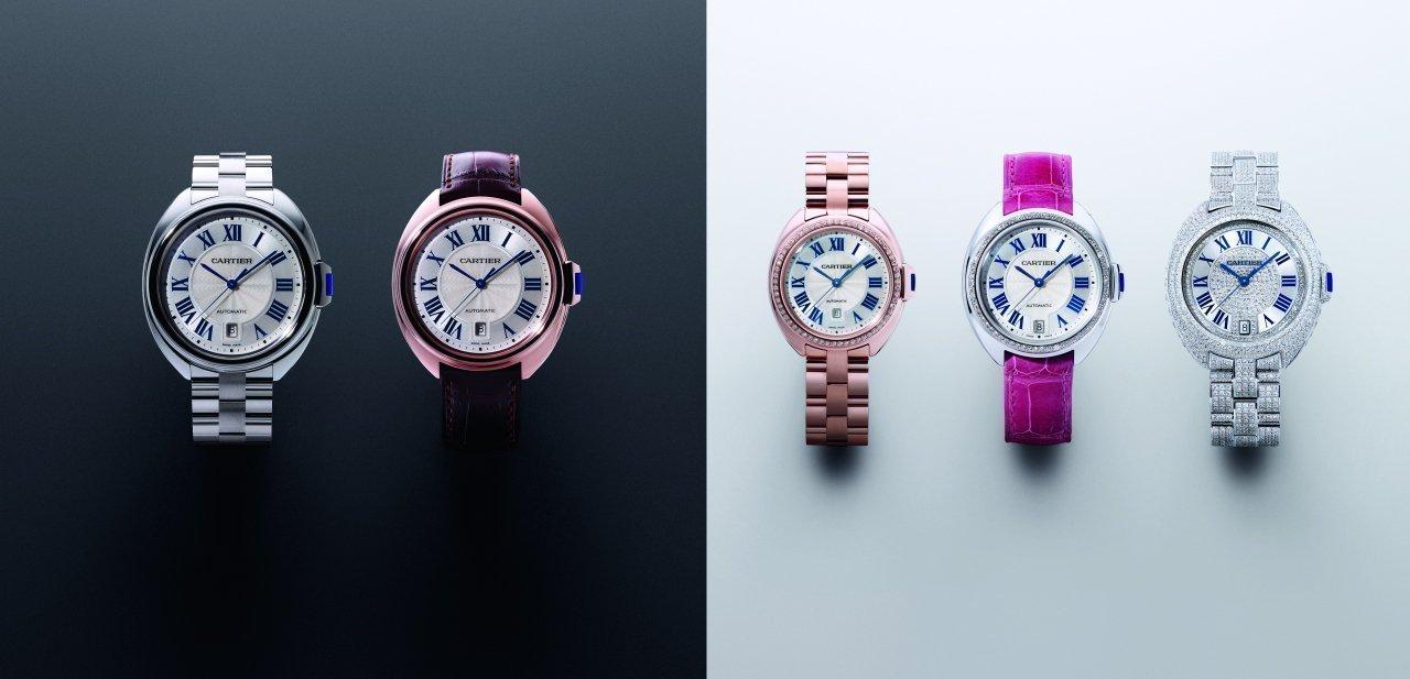 Las diferentes versiones del Clé de Cartier