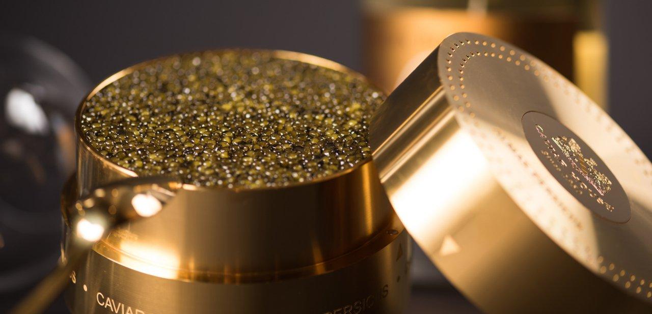 Las huevas del caviar más caro del mundo, del caviar Almas