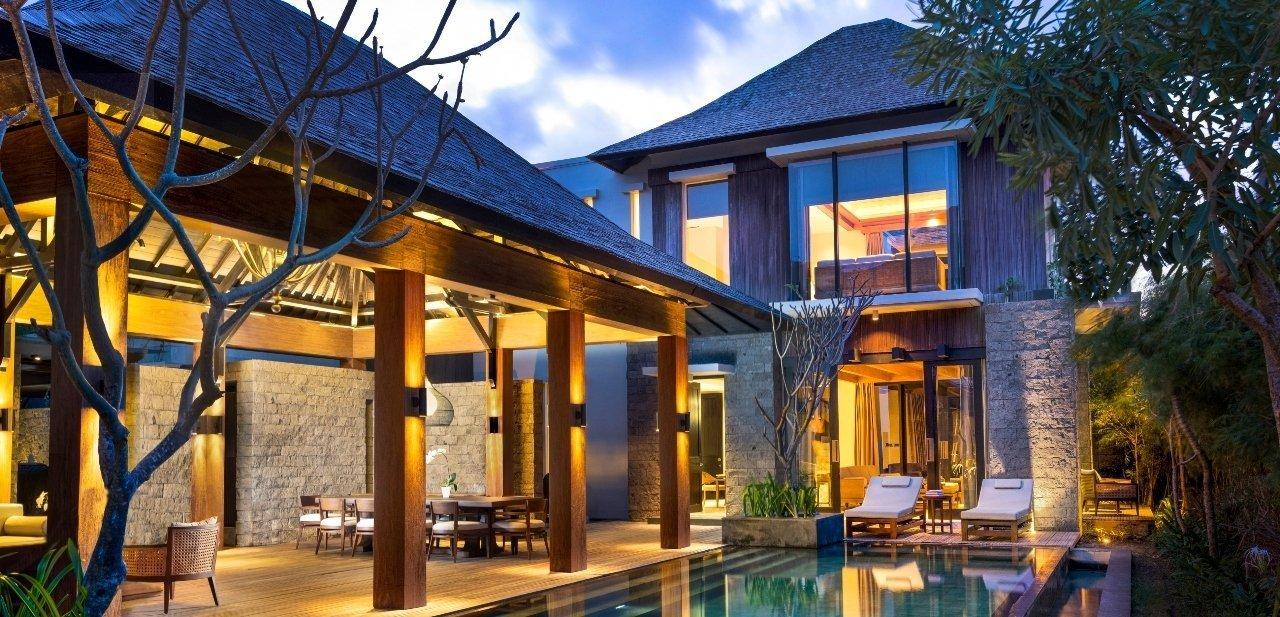 Las villas del hotel tienen áreas de uso exclusivo