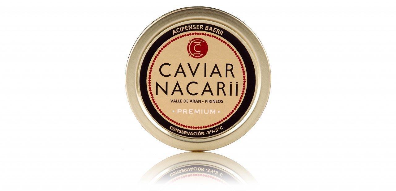 Lata de Caviar Nacarii Premium
