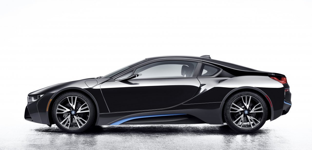 Lateral del BMW i8