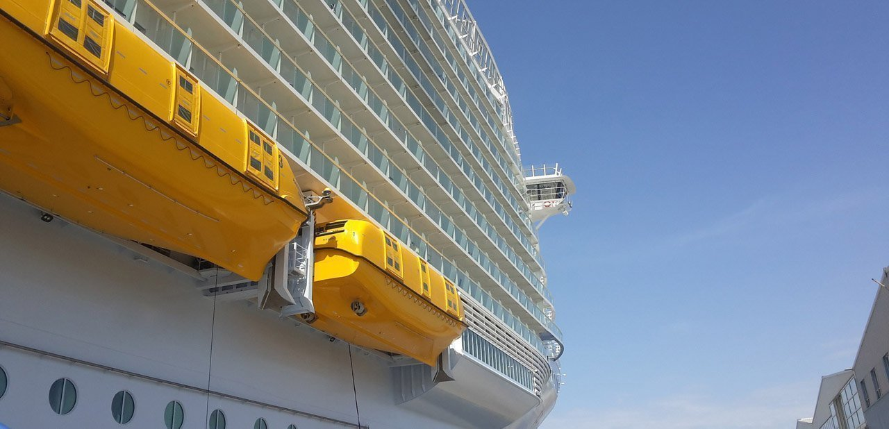 Lateral del Harmony of the Seas