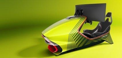 AMR-C01, el nuevo y espectacular simulador de Aston Martin