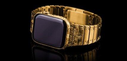 Apple Watch SERIES 6 Superior Edition, bañado en oro de 24 quilates