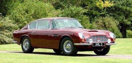 Aston Martin DB6, clásico entre los clásicos